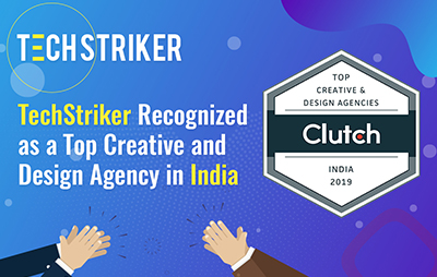 TechStriker Recognized as a Top Creative and Design Agency in India