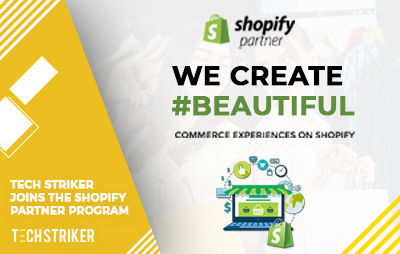 Tech Striker Joins the Shopify Partner Program